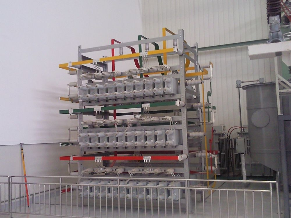 Powerhv High Voltage Test Capacitor Bank