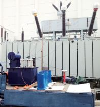 Onsite-partial-discharge-test-for-220kV-Power-Transformer