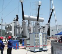 Onsite-partial-discharge-test-for-500kV-Power-Transformer